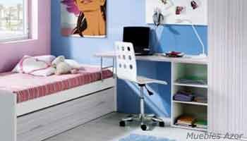 Dormitorios juveniles modernos de castellon fabricas de for Habitaciones juveniles economicas