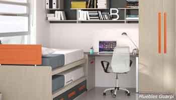 Muebles y dormitorios modernos y juveniles en castellon - Literas juveniles modernas ...