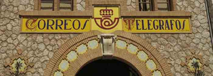 Oficinas de correos telegrafos y servicios postales de for Oficina de correos valencia