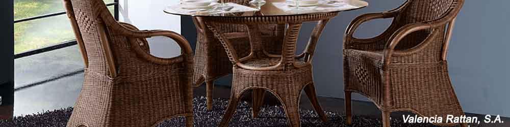 Fabricantes muebles mimbre ca a teca junco rattan for Muebles de cana y mimbre