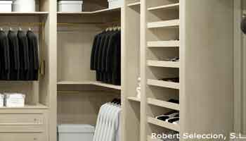 Armarios y vestidores fabricas talleres y carpinterias for Revestimiento de armarios empotrados